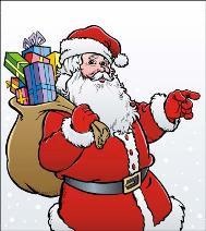 Goal Setting Santa Claus